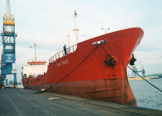 Cargo vessel SEA TRUST